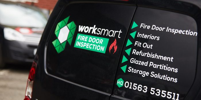 Worksmart Fire Door Inspection van