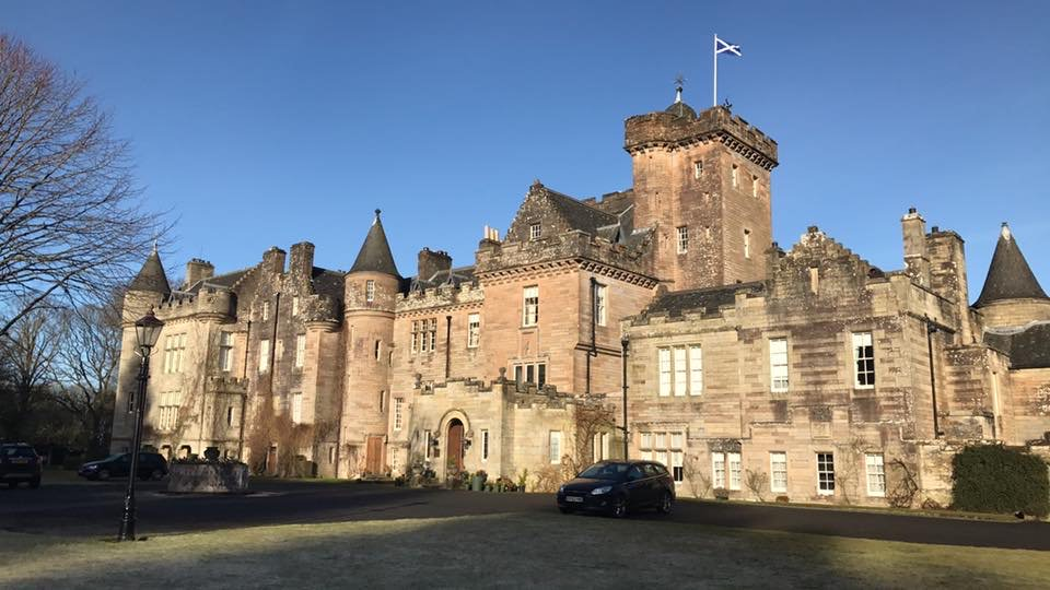 Glenapp Castle building maintenance